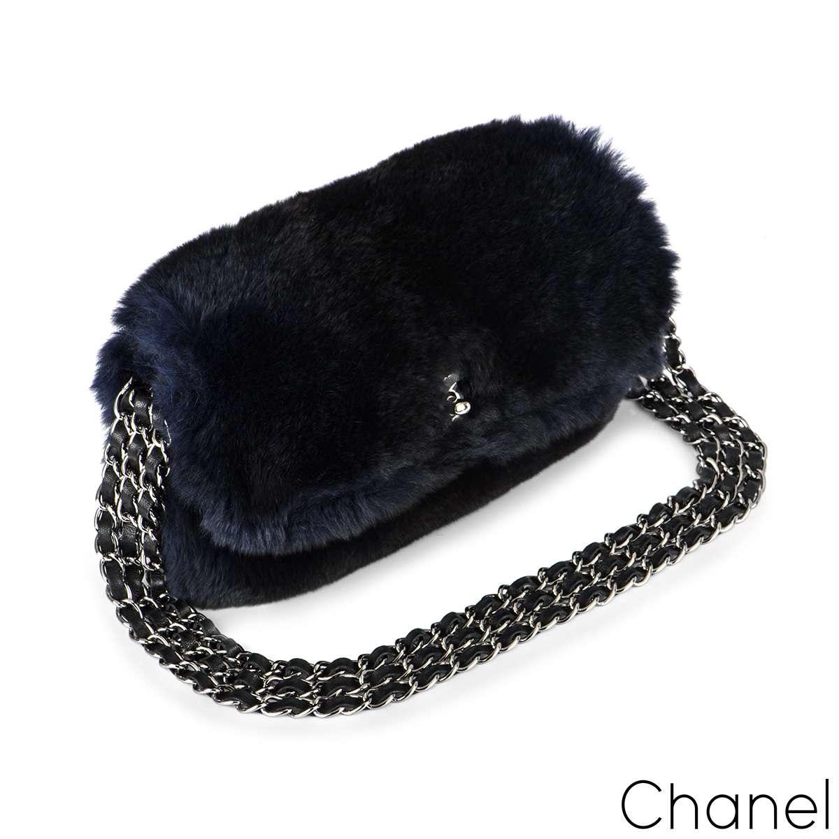 Chanel Orylag Triple Chain Flap Bag